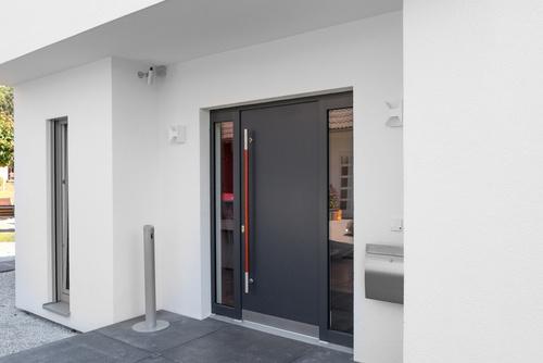 Haustr Wohnhaus Eingang  Matthias Buehner
